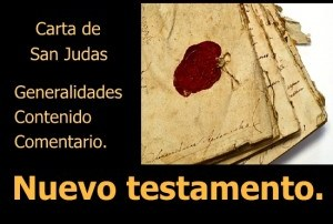 Carta de San Judas: Generalidades, cntenido y comentario. Audio mp3