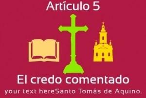 El credo comentado: Artículo 5. DESCENDIÓ A LOS INFIERNOS, Y AL TERCER DÍA RESUCITO DE ENTRE LOS MUERTOS. Santo Tomás de Aquino y Salvador Abascal. Audio mp3