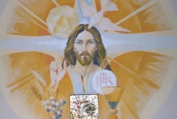 Eucaristía y vida.    Antes de acercarnos a la sagrada Mesa...               Hora santa.                         Parroquia de San Pío X