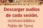 Curso de Lectio Divina. Sesiones en audio disponibles.