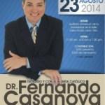 Conferencia: Dr. Fernando Casanova en León  23 de agosto 2014.