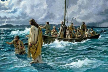 Jesús camina sobre el agua. San Mateo 14, 22-33.