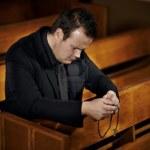 Al entrar a la Iglesia. Oración
