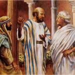 2a lect de la 1a carta del Apóstol San Pablo a los Corintios 4,1-5. Domingo 26 de Febrero de 2017.