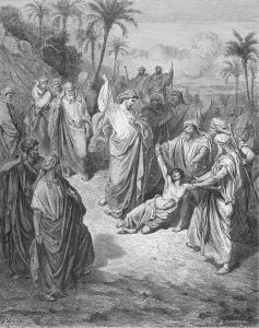 Evangelio San Marcos 9,14-29. Lunes 20 de Febrero de 2017. Misa por los Prófugos y los Exiliados.