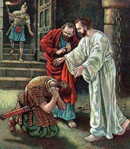 Del libro de los Hechos de los Apóstoles 16,22-34. Martes 23 de Mayo de 2017.