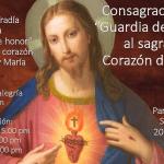 Invitación a consagrarse a la Guardia de honor del sagrado corazón de Jesús.