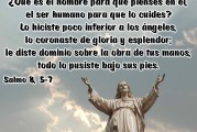 Salmo 8, 2.5-9. Martes 12 de Enero de 2021. Misa por la Evangelización de los Pueblos.