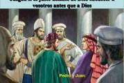 Del libro de los Hechos de los Apóstoles 4, 13-21. Sábado 10 de Abril de 2021.