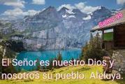 Salmo 99, 2-3.5. Sábado 8 de Mayo de 2021. Nuestra Señora de Luján Patrona de Argentina, Paraguay y Uruguay.