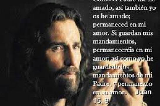 Evangelio San Juan 15,9-17. Domingo 9 de Mayo de 2021.