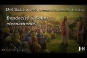 Salmo 144, 10-11.15-18. Domingo 25 de Julio de 2021.