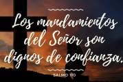 Salmo 110, 7-10. Jueves 16 de Septiembre de 2021.