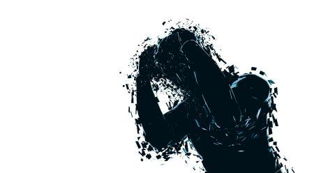 broken person (graphic)