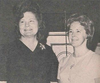 Mrs. Doyle Stanfield, Geneva Circle; Mrs. Dudley Pyeatt, Ellen Circle