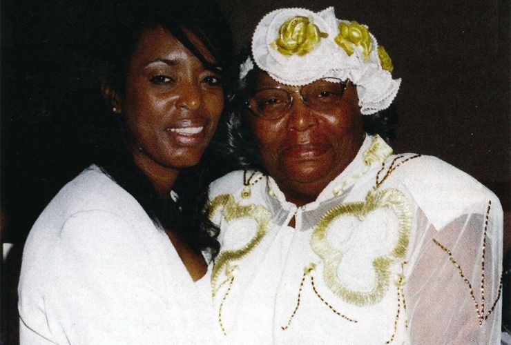 Mary Alice Brown with her daughter, Shayna Duncan