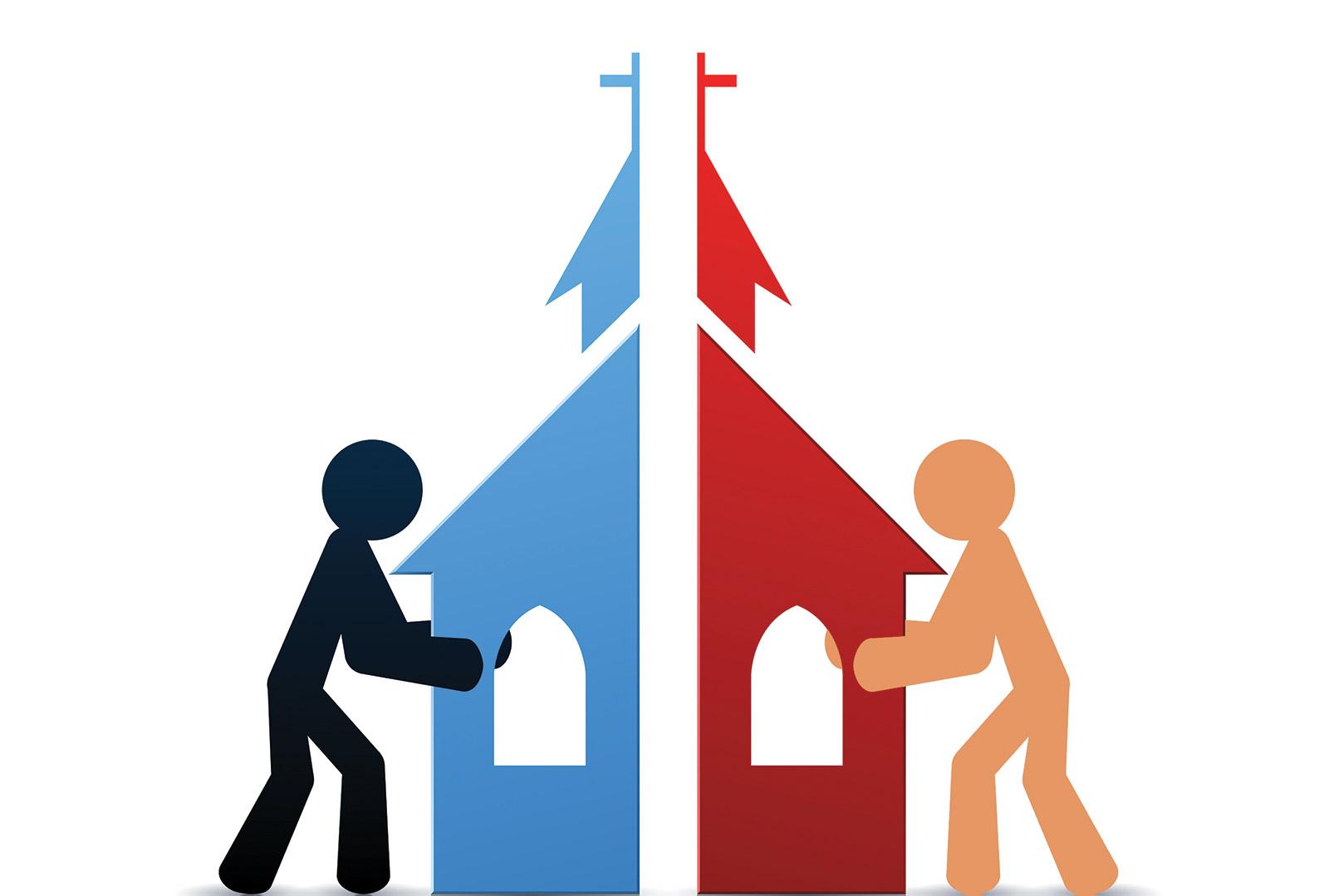 Church divided