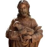 Jesus holding lamb