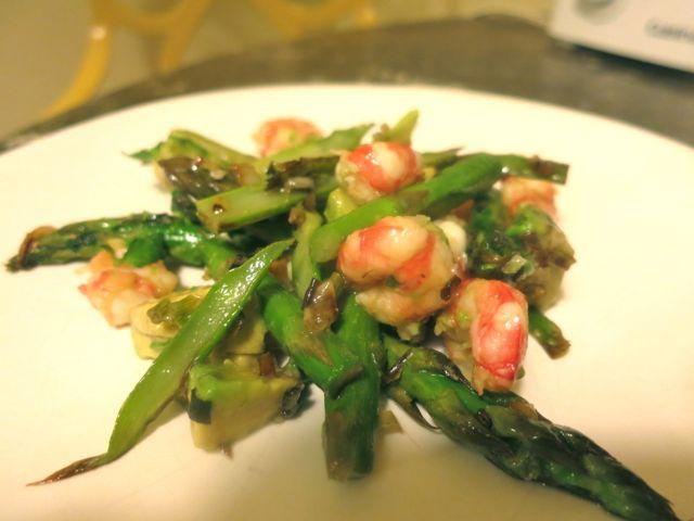 Shrimp + Asparagus