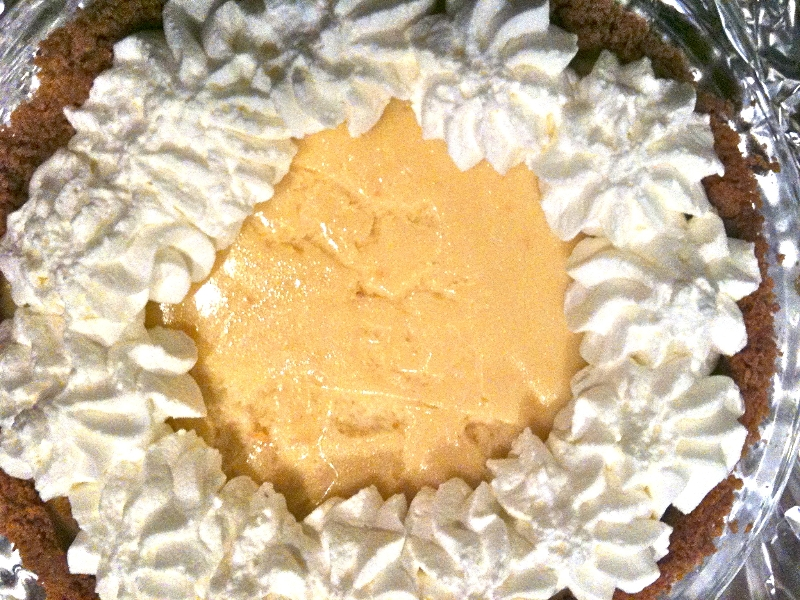 Butterscotch Pie, pie-a-day, kcrw