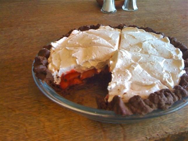 pie-a-day, kcrw, strawberry pie