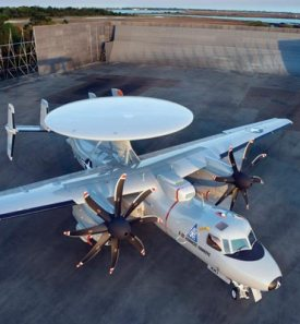 Evans Hybrid Capacitors on USN E-2D Advanced Hawkeye