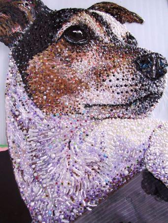 Pet Portrait - Detail of Russie by E.G.Silberman, 2008