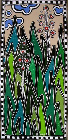 Tall Greens by E.G.Silberman, 2006