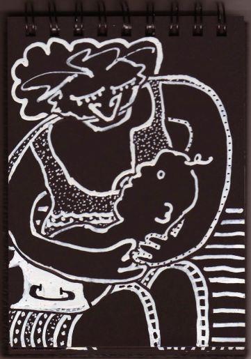 Suckling by Evan Silberman, 2004