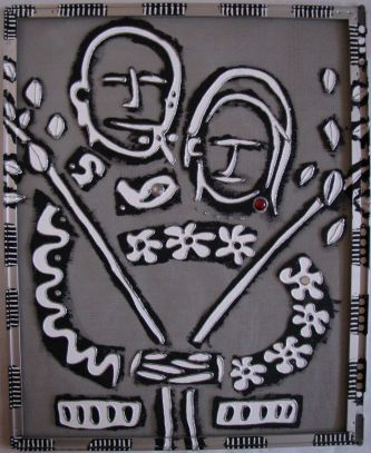 B&W - Couple by E.G.Silberman, 2003