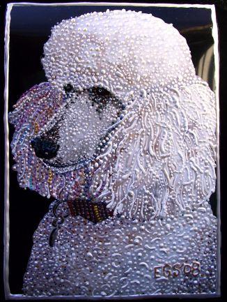 Pet Portrait - Lola by E.G.Silberman, 2008