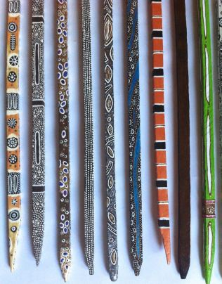 Mix of Sticks by Evan Silberman