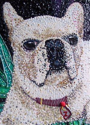 Pet Portrait - Ziggy by E.G.Silberman, detail