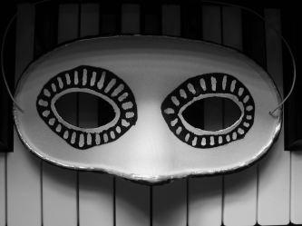 B&W - b&w mask by E.G.Silberman, 2007