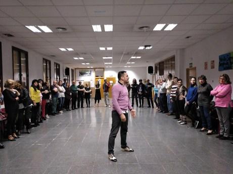 Clase de tango con Carlos Paredes
