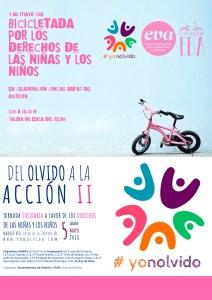 EBA - bicicletada por los derechos de las niñas y los niños