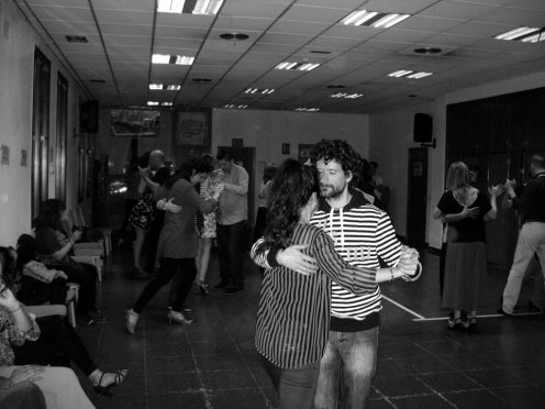 La Pipiola, práctica de tango en evarganzuela.