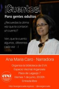 Cuentos EVA Espacio Vecinal Arganzuela