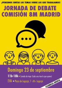 Jornada de Debate Comisión 8M Madrid