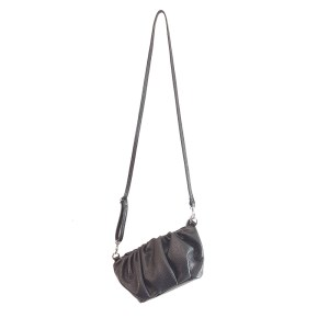 mini bag con tracolla nera
