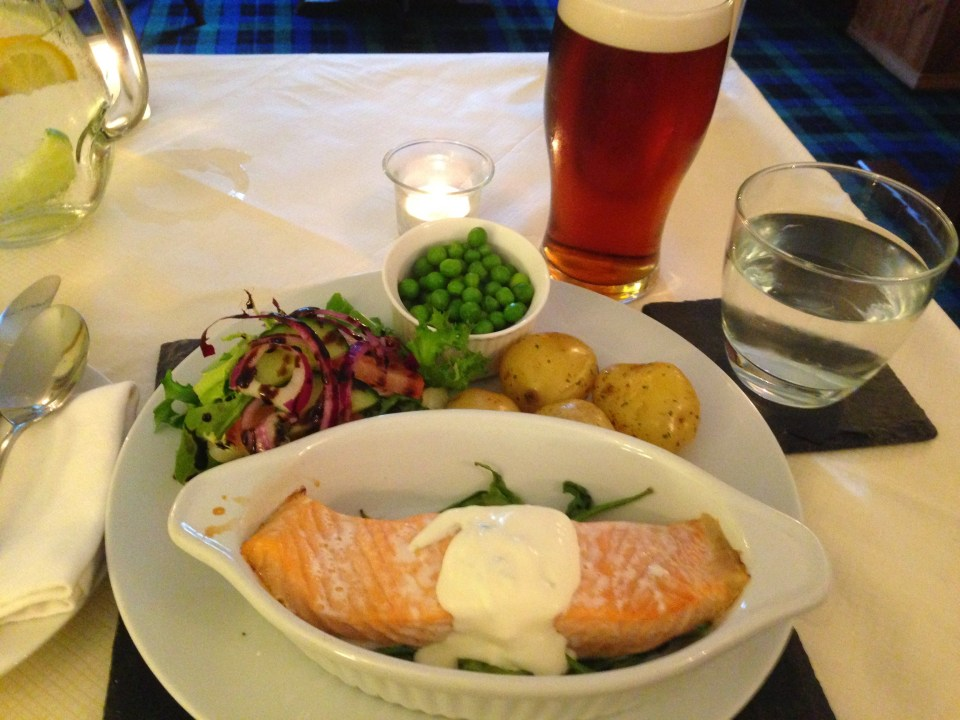 West Highland Way Dinner