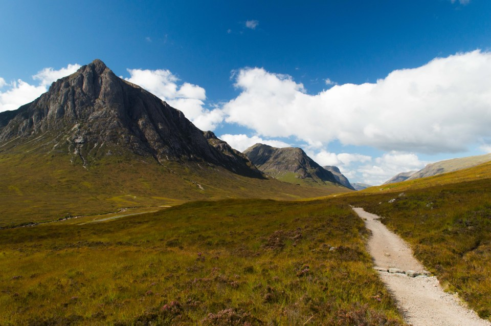 West Highland Way - Glen Coe