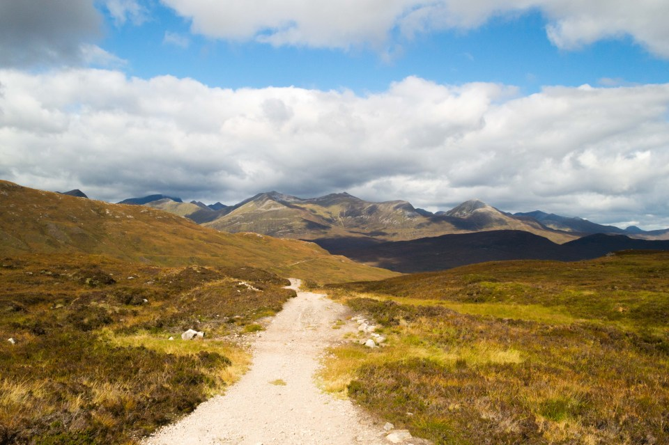 West Highland Way - Top of Devil's Staircase