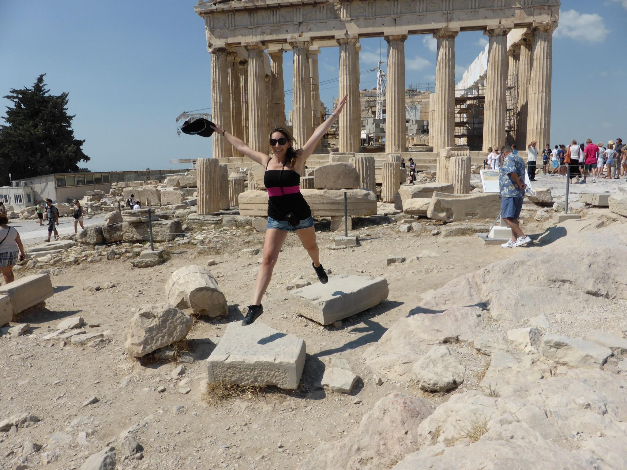 Athènes le Parthénon