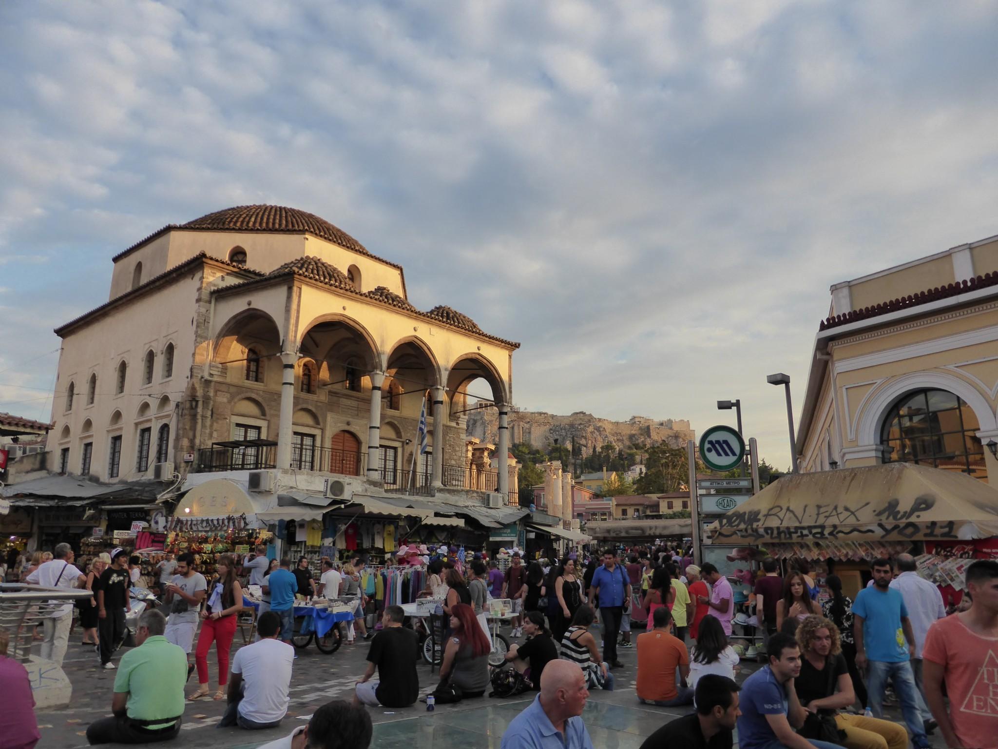 Athènes place monasteriki