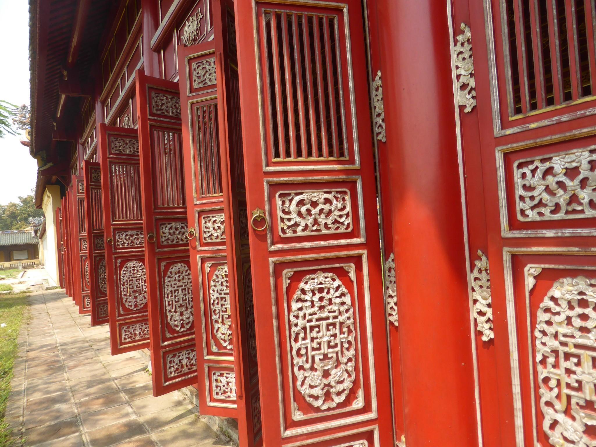 Galerie cité pourpre Hué