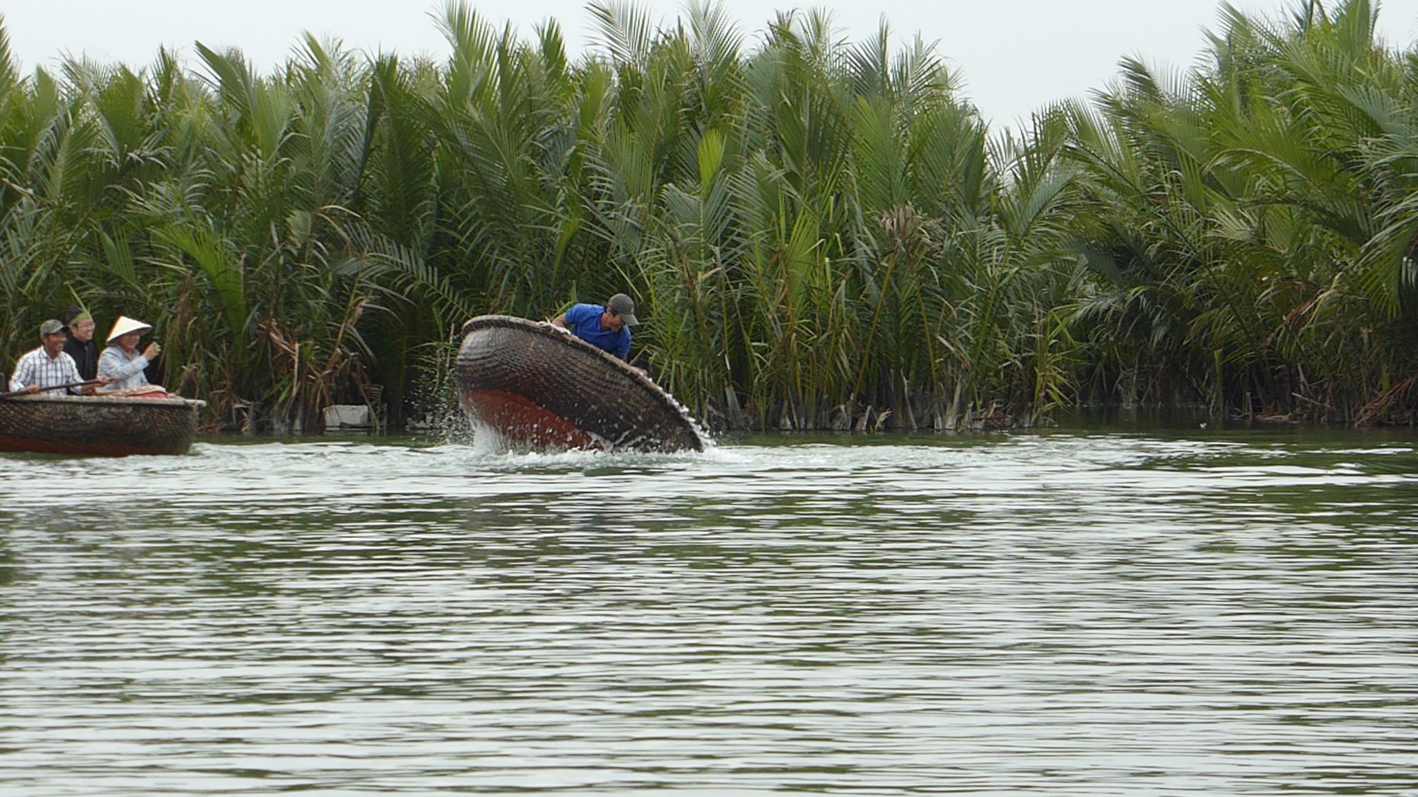 Bateau panier Cam Thanh Hoi An