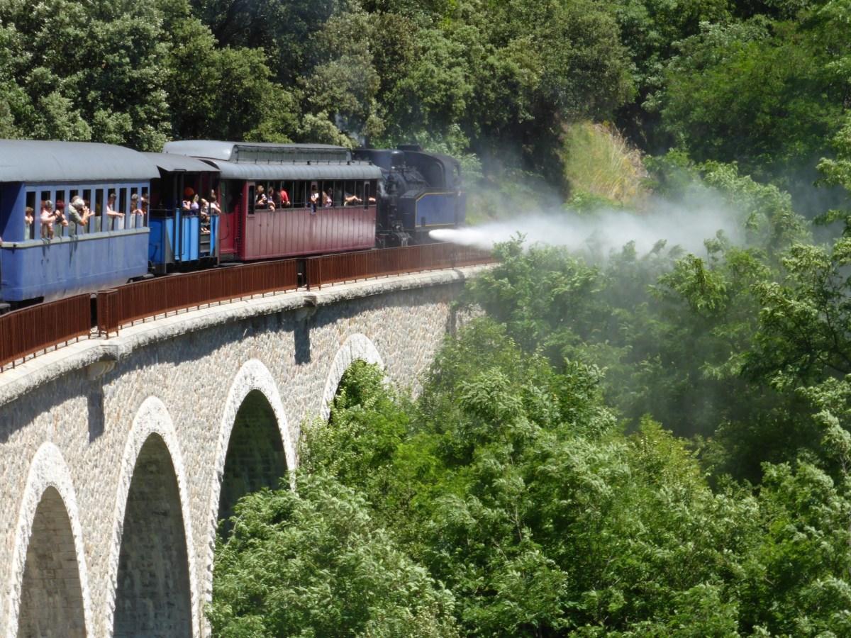 Découvrir les Cévennes en train à vapeur