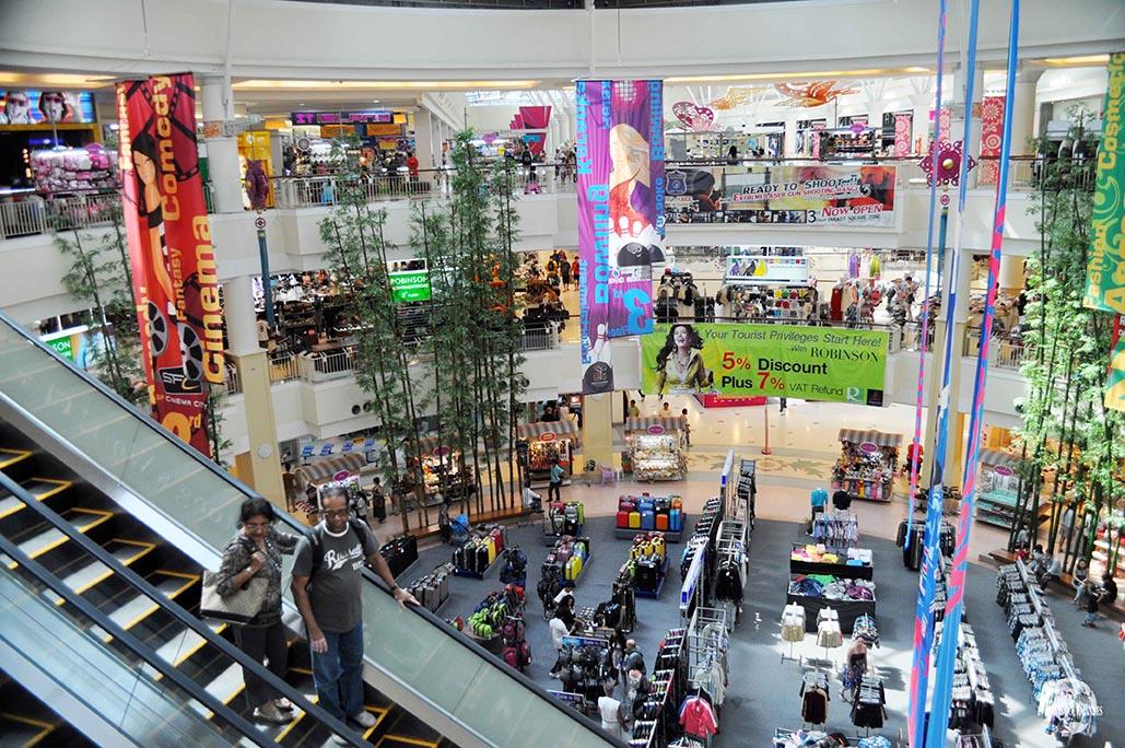 Shopping Thaïlande