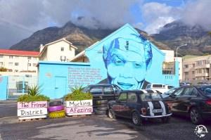 Street Art Nelson Mandela